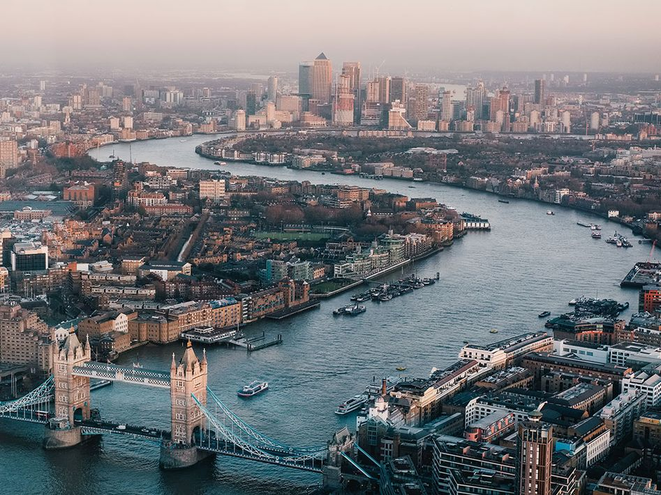 A photo of London.